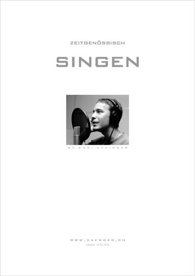 Lehrmittel 'Zeitgenössisch Singen'
